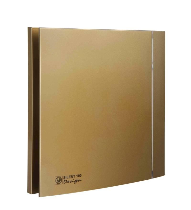 Ventilator SILENT 100 DESIGN GOLD CRZ 4C