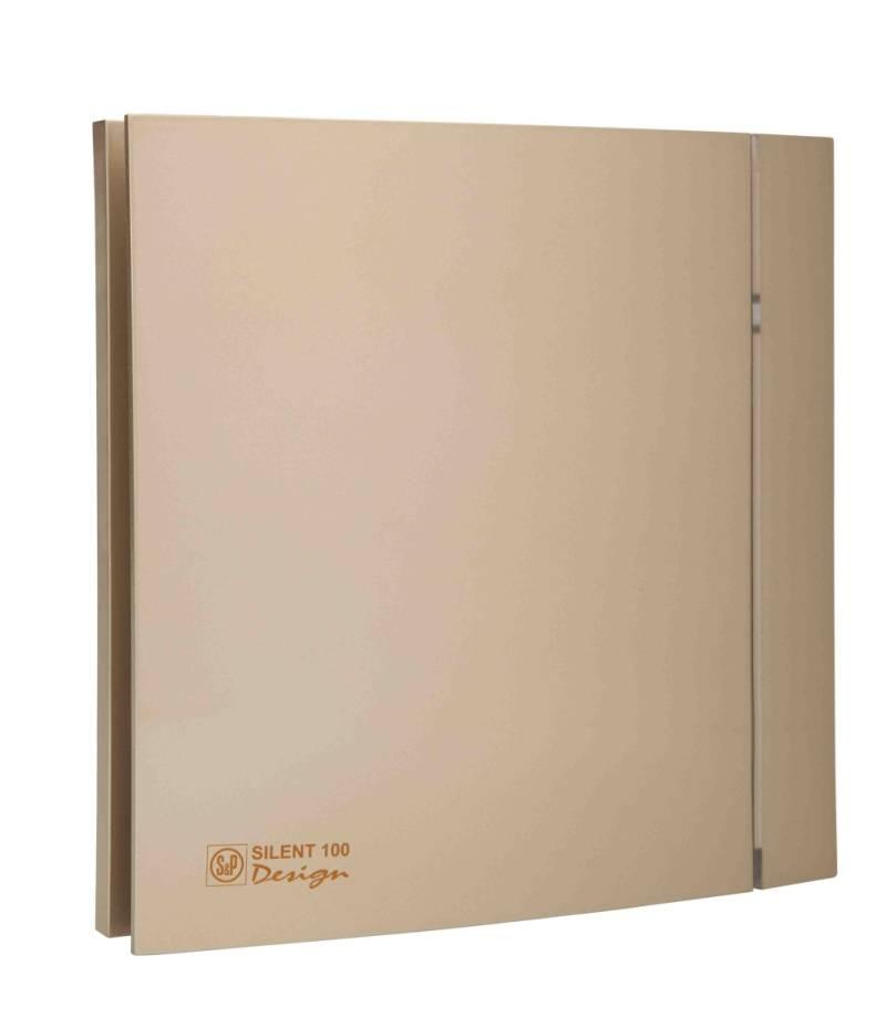 Ventilator SILENT 100 DESIGN CHAMPAGNE CRZ 4C