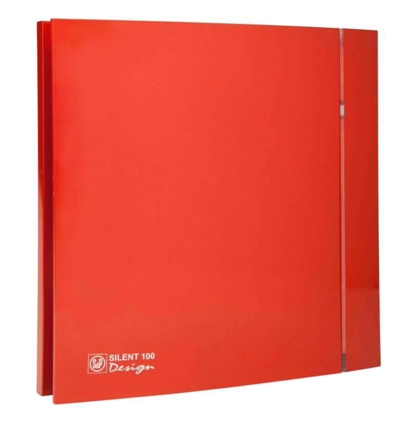 Ventilator SILENT 100 DESIGN RED CRZ 4C