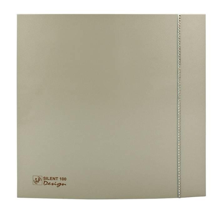 Ventilator SILENT 100 DESIGN SWAROWSKI CHAMPAGNE CZ
