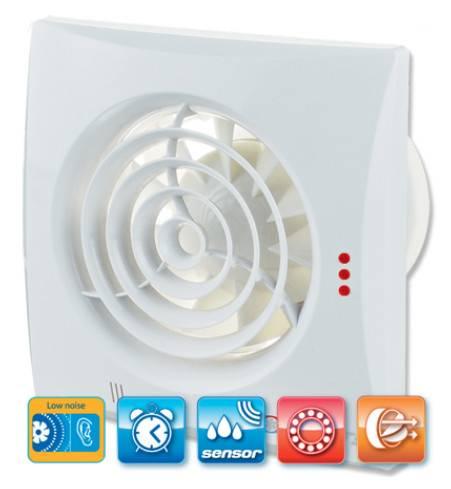 Ventilator VENTS 125 QUIET TH