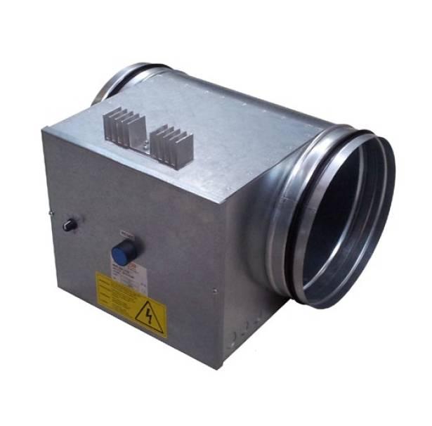 Elektro-Heizregister MBE 160/2,1 R2 mit integrierter Temperaturregelung